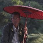 l'homme à l'ombrelle